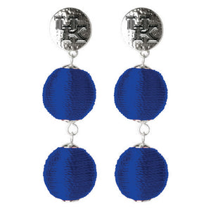 KENTUCKY WILDCATS SONATA EARRINGS