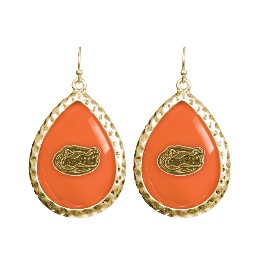 Florida Gators Teardrop Earring