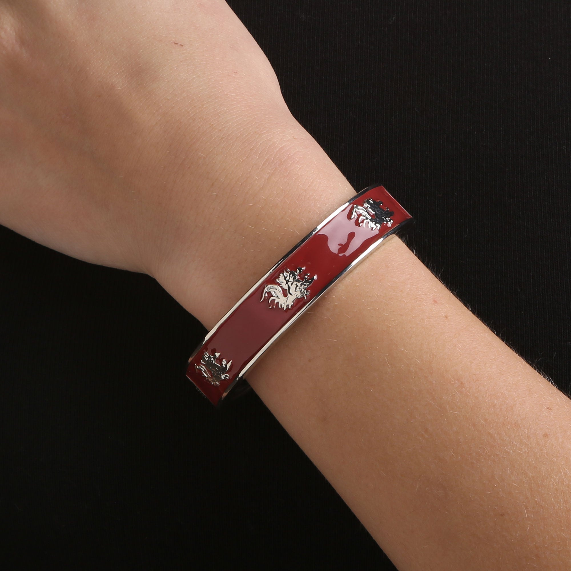 South Carolina Gamecocks Logo Bangle