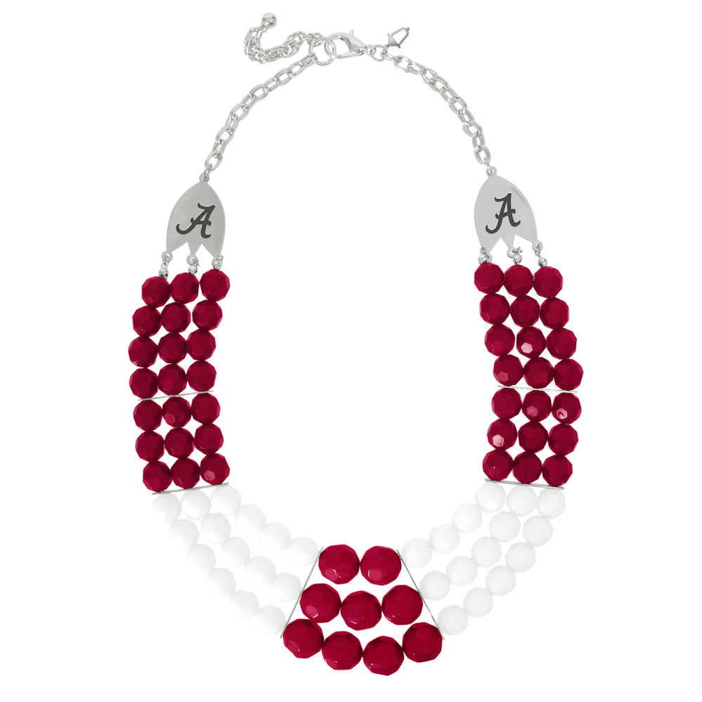 Alabama Crimson Tide Stadium Necklace