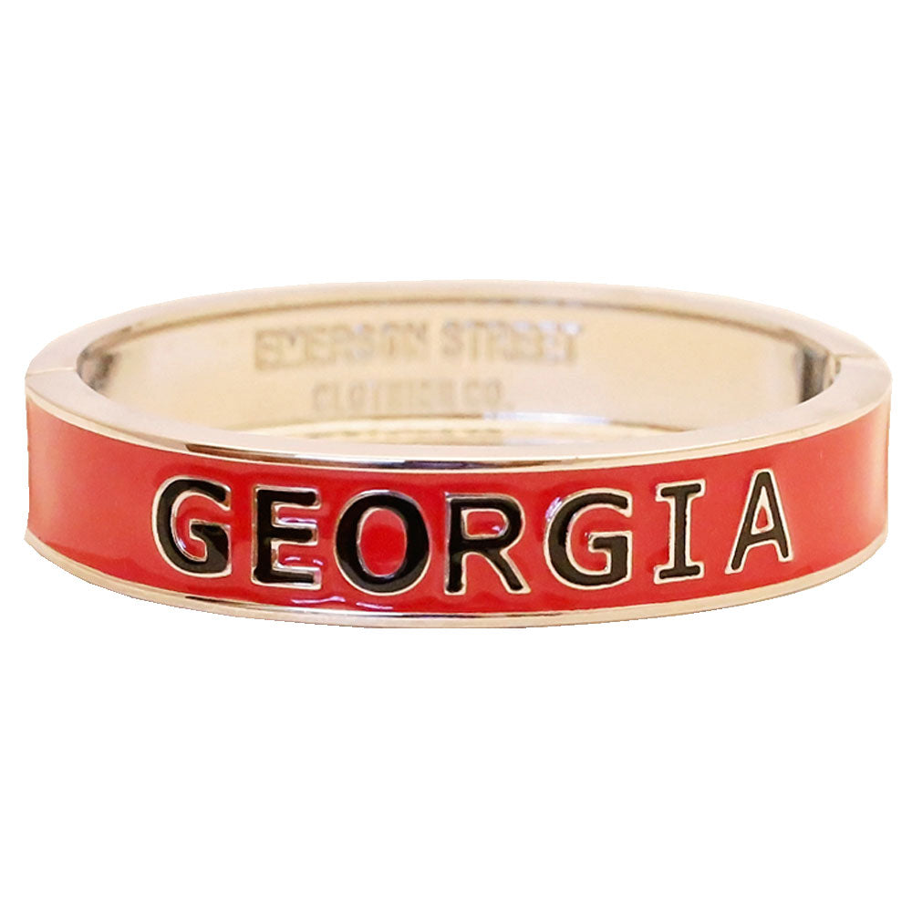 GEORGIA BULLDOGS SCHOOL BANGLE