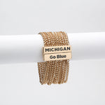 Load image into Gallery viewer, MICHIGAN WOLVERINES JOLIE BRACELET