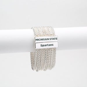 MICHIGAN STATE SPARTANS JOLIE BRACELET