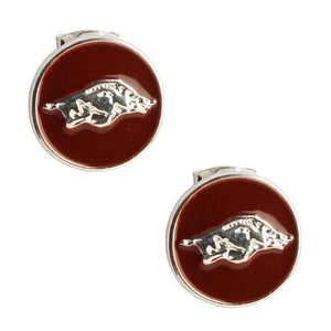 ARKANSAS RAZORBACKS CASEY STUD EARRINGS