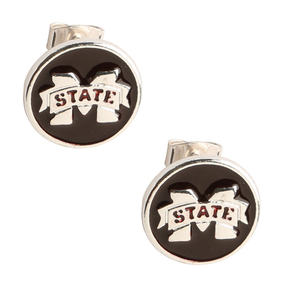 Mississippi State Bulldogs Casey Stud Earrings