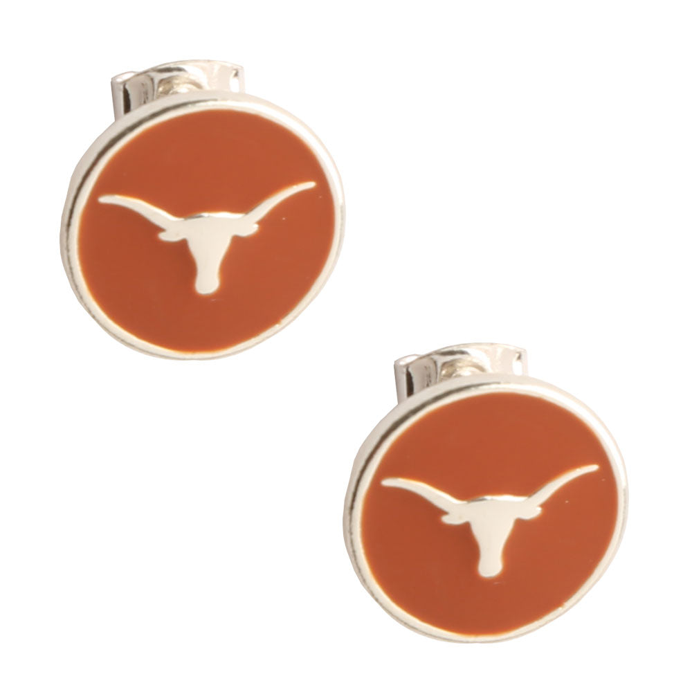 TEXAS LONGHORNS CASEY STUD EARRINGS