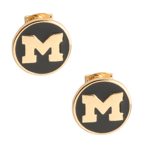 Michigan Wolverines Casey Stud Earrings
