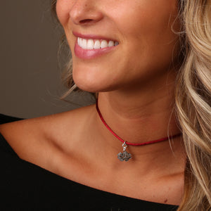 SOUTH CAROLINA GAMECOCKS SATIN CHOKER