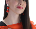 Load image into Gallery viewer, OKLAHOMA STATE COWBOYS SONATA EARRINGS
