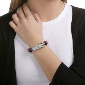 SOUTH CAROLINA GAMECOCKS 2TONE BANGLE