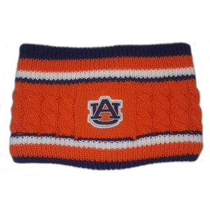 AUBURN TIGERS WIDE KNIT HEADBAND