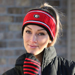 Load image into Gallery viewer, GEORGIA BULLDOGS WIDE KNIT HEADBAND