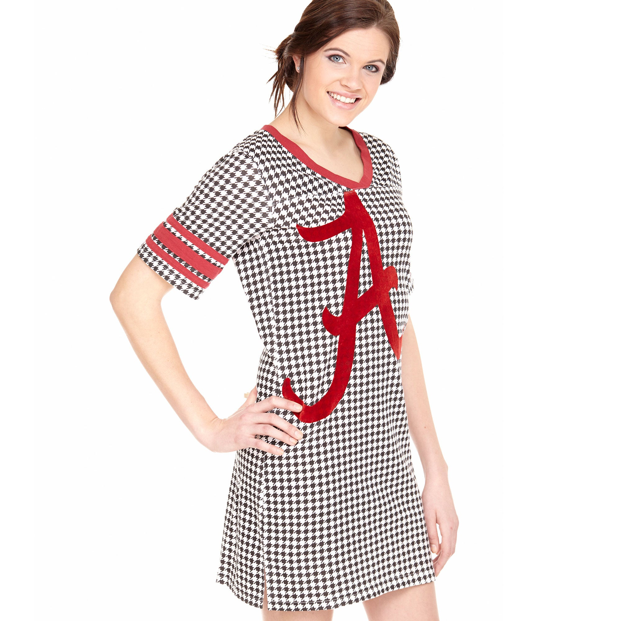 Alabama Crimson Tide Houndstooth Roll Tide Nightshirt