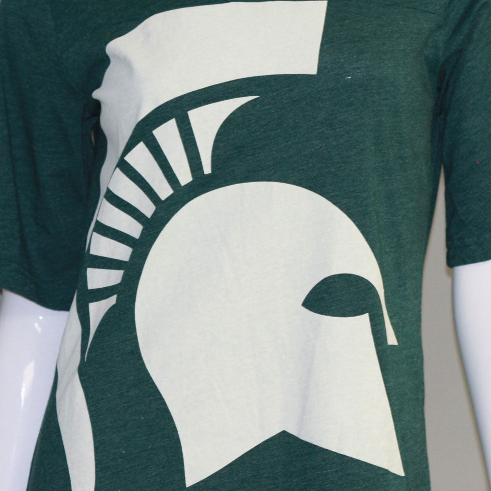 Michigan State Spartans Heathered Jersey Nightshirt