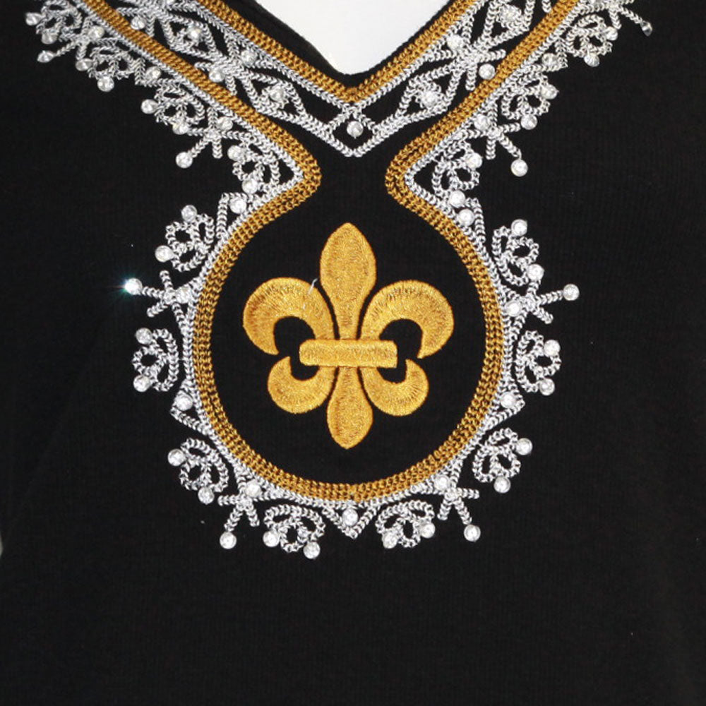 Fleur De Lis Medallion Dress