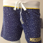 Load image into Gallery viewer, Michigan Wolverines Print Short