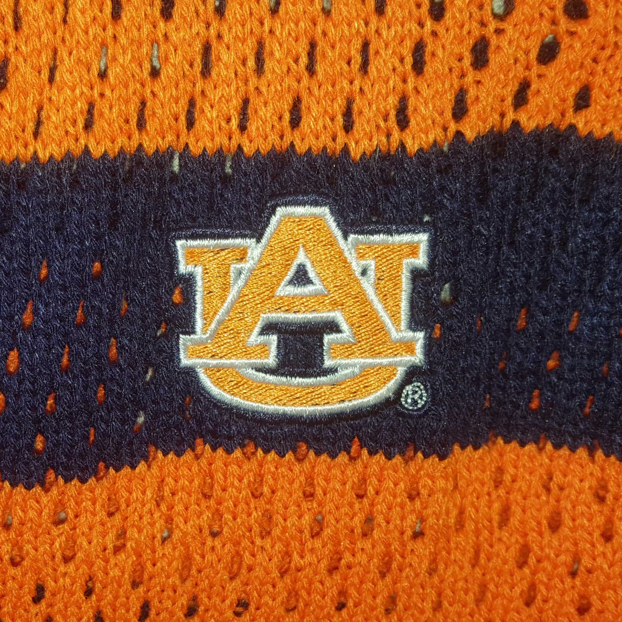 Auburn War Eagle Open Knit Cardigan