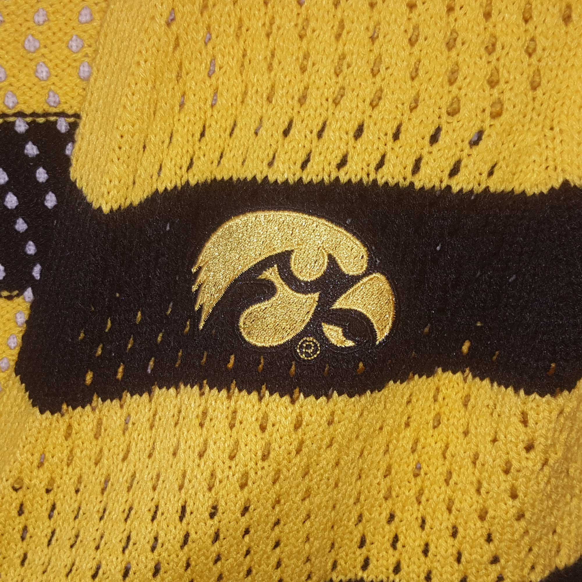 Iowa Hawkeyes Open Knit Cardigan