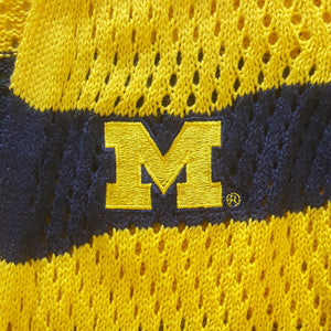 MICHIGAN WOLVERINES OPEN KNIT CARDIGAN