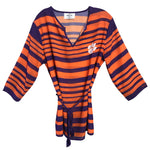 Load image into Gallery viewer, CLEMSON TIGERS SHEER STRIPE TUNIC