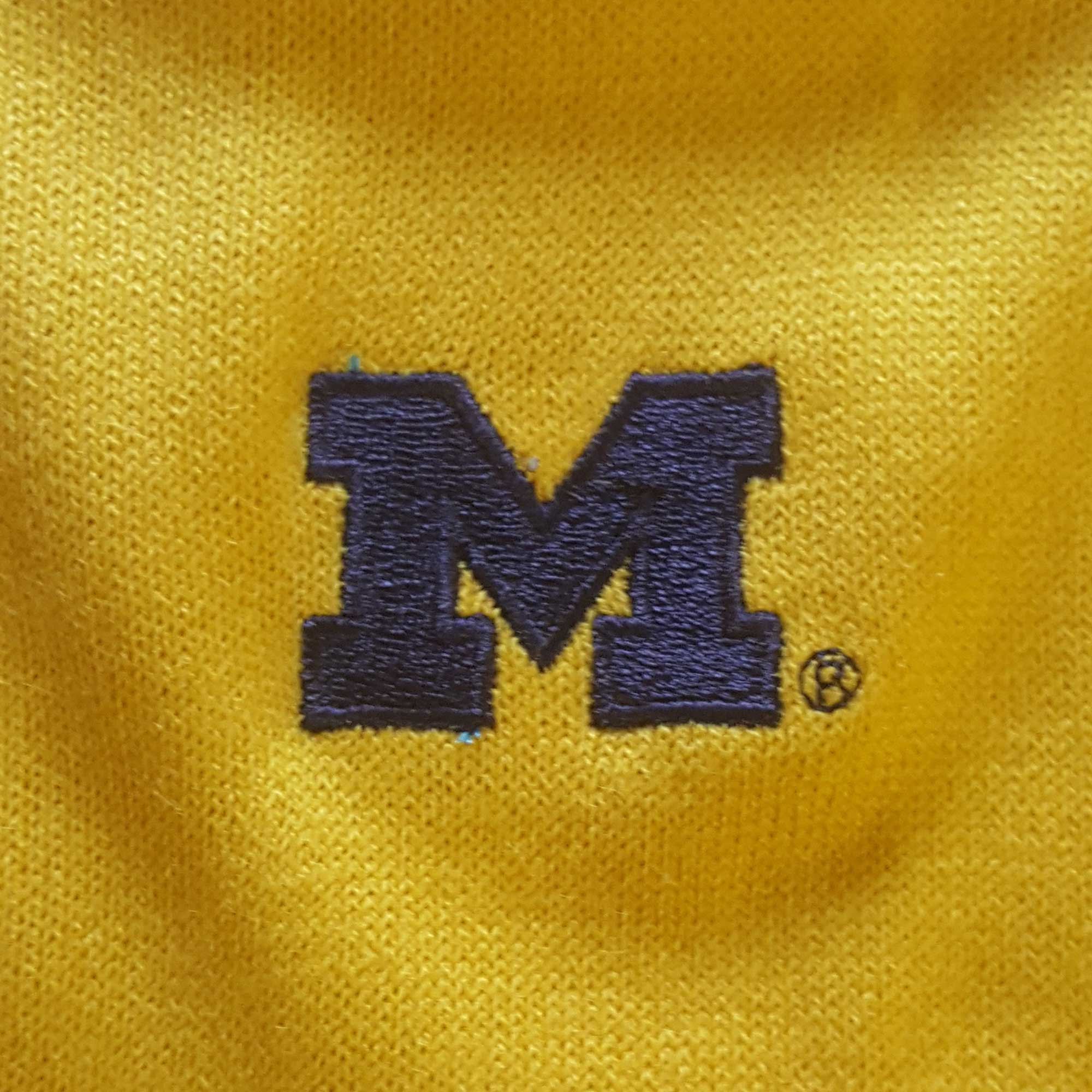 MICHIGAN WOLVERINES COLOR BLOCK CARDIGAN