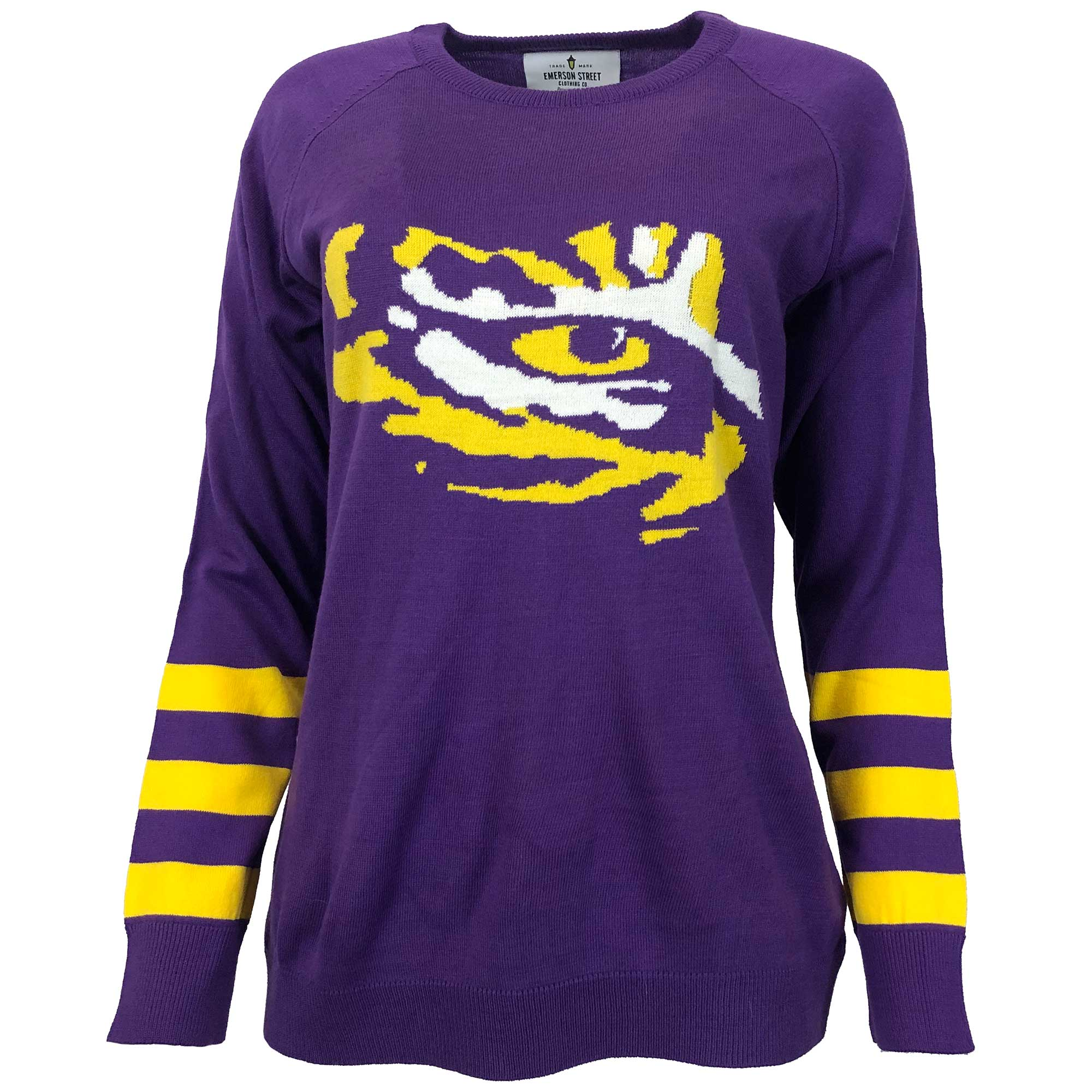 LSU Tigers Logo Sweater