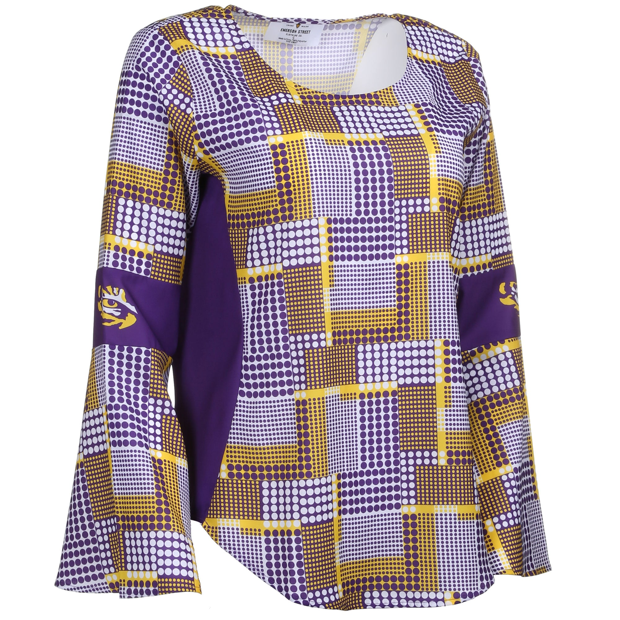 LSU ERIN  BELL SLEEVE TOP