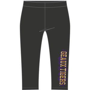 LSU Tigers Crop Legging