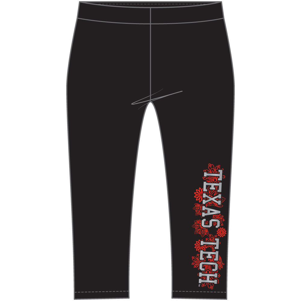 Texas Tech Red Raiders Crop Legging