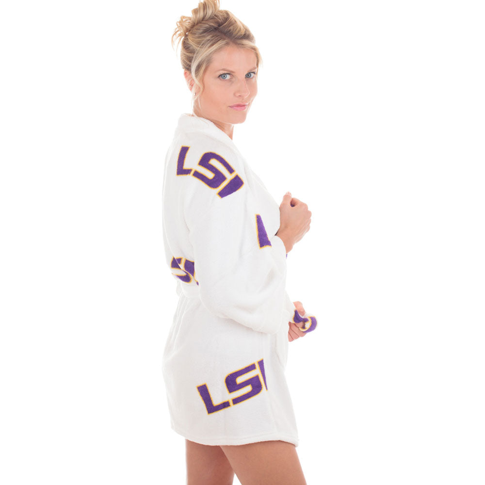 LSU Tigers Spa Robe