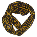 Load image into Gallery viewer, MISSOURI TIGERS CHEVRON INFINITY SCARF