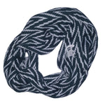 Load image into Gallery viewer, MICHIGAN STATE SPARTANS CHEVRON INFINITY SCARF