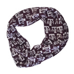 Load image into Gallery viewer, TEXAS A&M AGGIES LOGO INFINITY SCARF