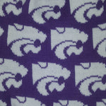 Load image into Gallery viewer, KANSAS STATE WILDCATS LOGO INFINITY SCARF