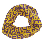 Load image into Gallery viewer, LSU TIGERS LOGO INFINITY SCARF