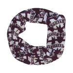 Load image into Gallery viewer, MISSISSIPPI STATE BULLDOGS LOGO INFINITY SCARF
