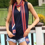 Load image into Gallery viewer, AUBURN TIGERS SLIM SCARF