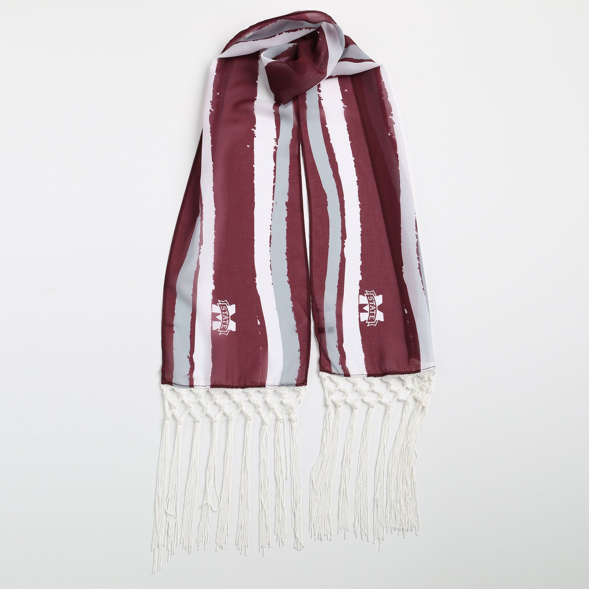 Mississippi State Bulldogs Dina Fringe Scarf