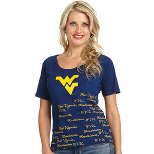West Virginia Mountaineers Signature Top