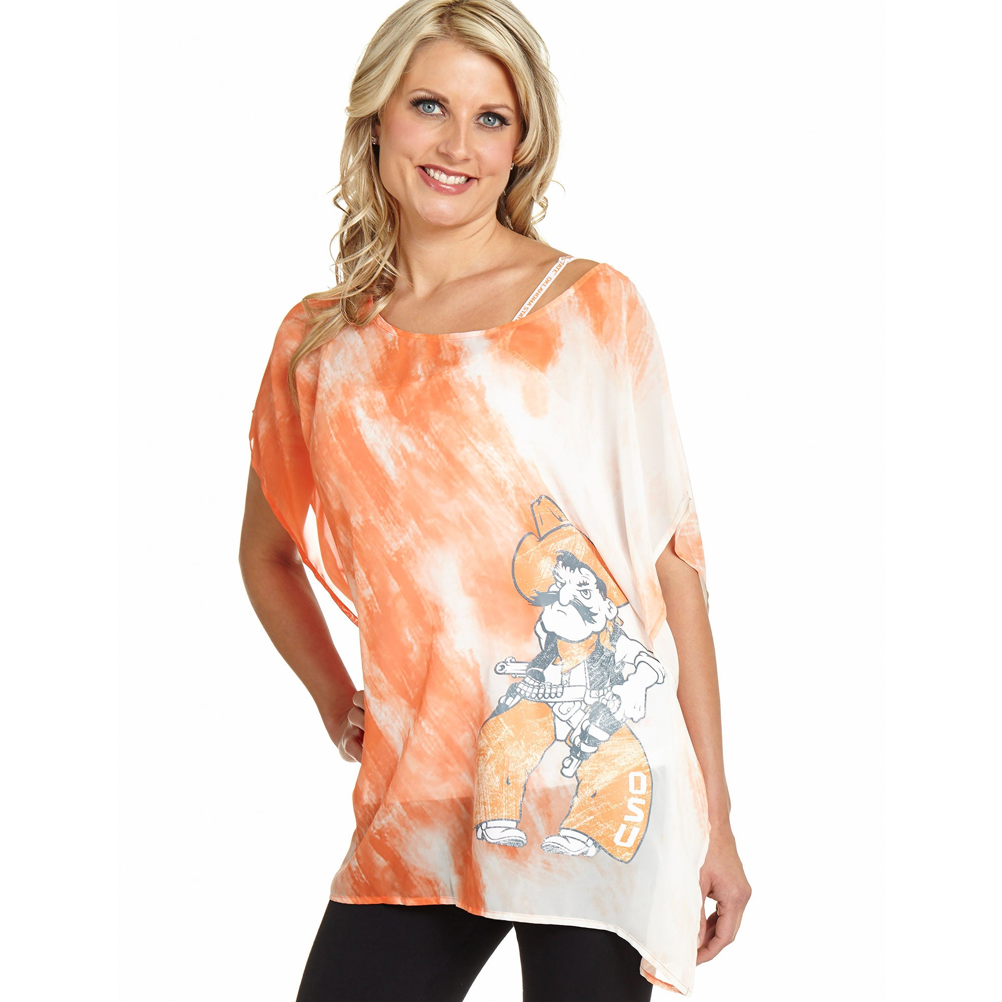 Oklahoma State Cowboys Sheer Tunic