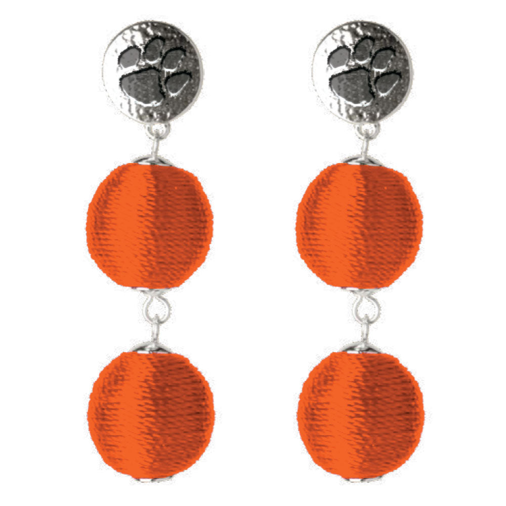 CLEMSON TIGERS SONATA EARRINGS