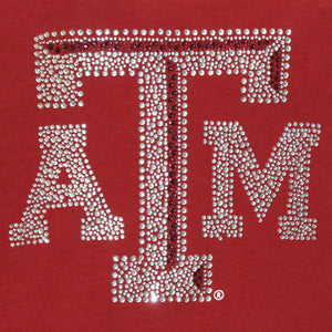 Texas A&M Aggies Jeweled Long Sleeve