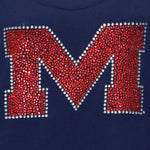 Load image into Gallery viewer, Mississippi Rebels Jeweled Long Sleeve