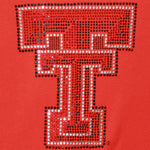 Load image into Gallery viewer, Texas Tech Red Raiders Jeweled Long Sleeve