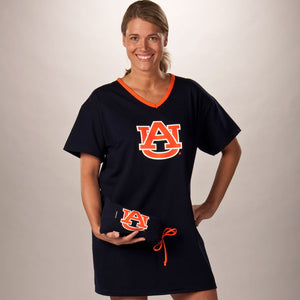 Auburn Tigers Collegiate Nightshirt In Bag