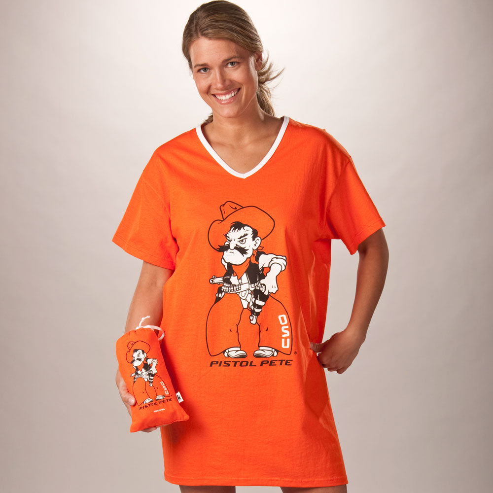Oklahoma State Cowboys Collegiate Nightshirt In Bag
