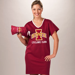 Iowa State Cyclones Collegiate Nightshirt In Bag