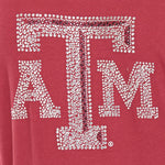 Load image into Gallery viewer, Texas A&M Aggies Jeweled Raglan V Neck