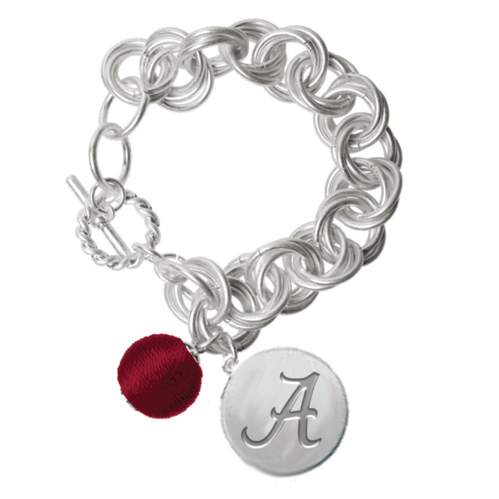 ALABAMA CRIMSON TIDE VIOLA BRACELET
