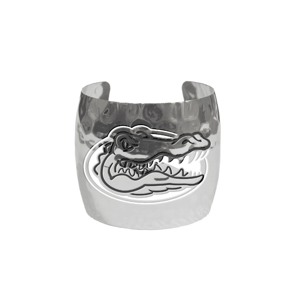 FLORIDA GATORS HAMMERED CUFF